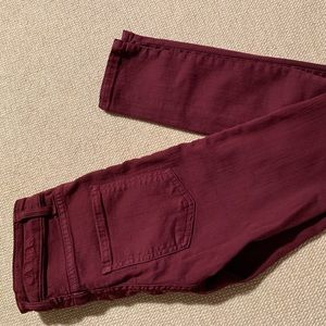 Carmar Jeans Skinny Berry Red